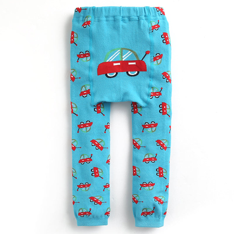 Baby Leggings - Cars-Clothing-Teal Olive Designs