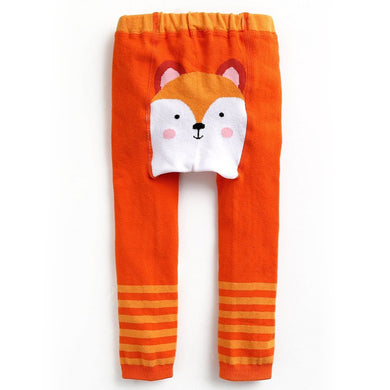 Baby Leggings - Fox-Clothing-Teal Olive Designs