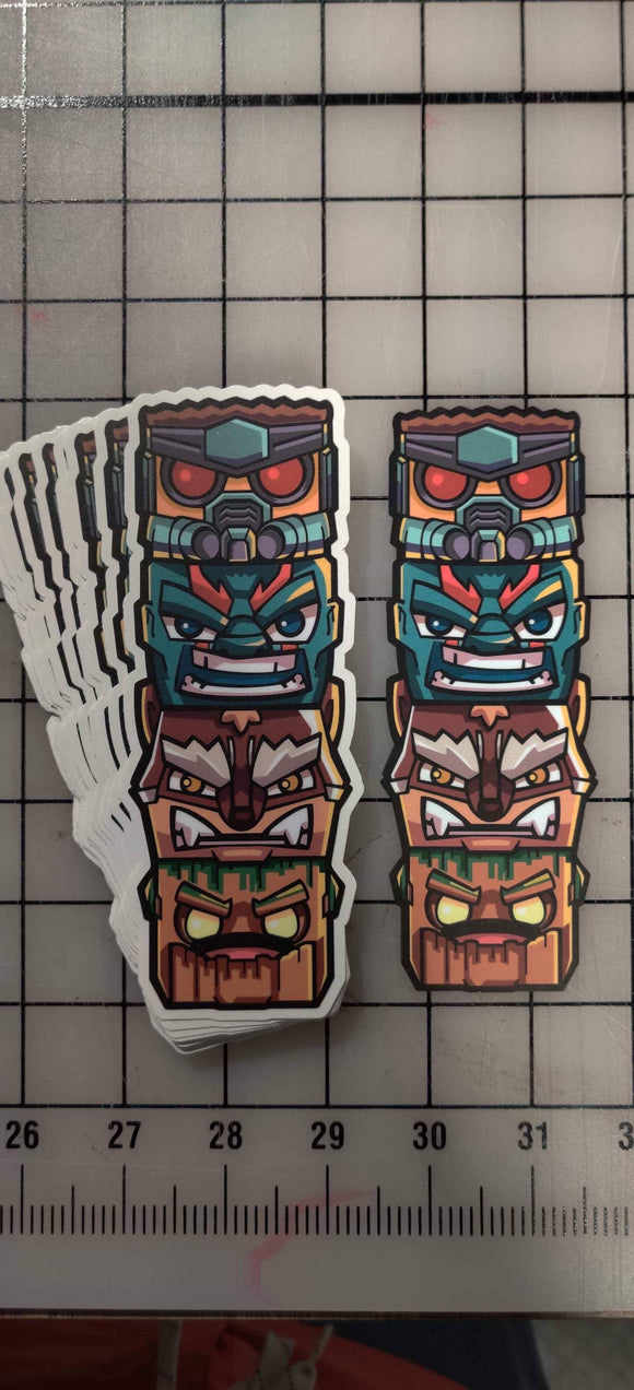 Tiki Totem v4 Decal