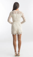 Load image into Gallery viewer, Zimmermann Crepe Lace Playsuit