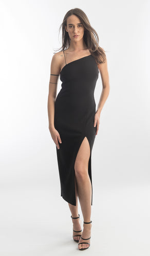 Bec and Bridge Velours Asym Dress