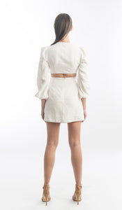 Zimmermann Corsage Braid Mini Dress