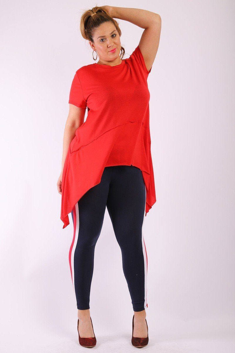 d0285da7fe Solid Knit, Tunic Top In An Oversized Fit With A Round Neckline ...