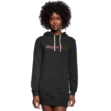 Load image into Gallery viewer, Big Petty Hoodie - heather black