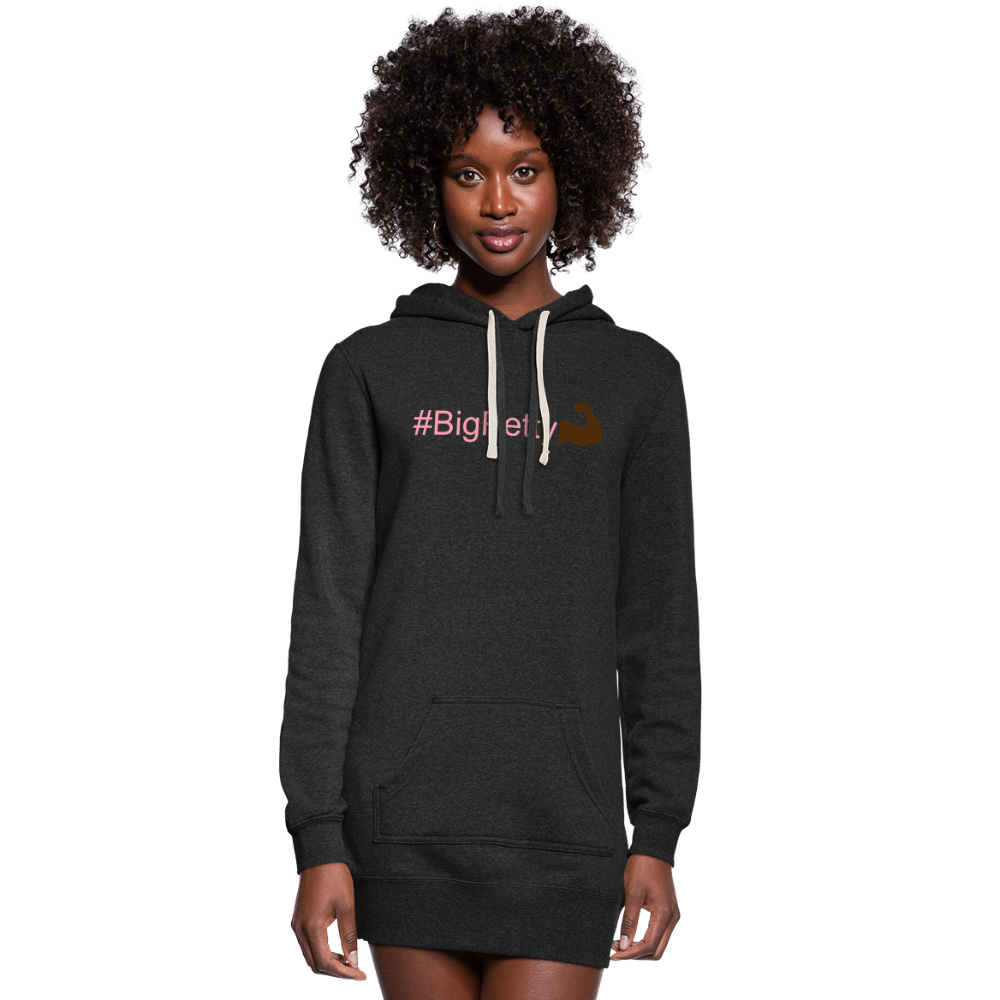 Big Petty Hoodie - heather black