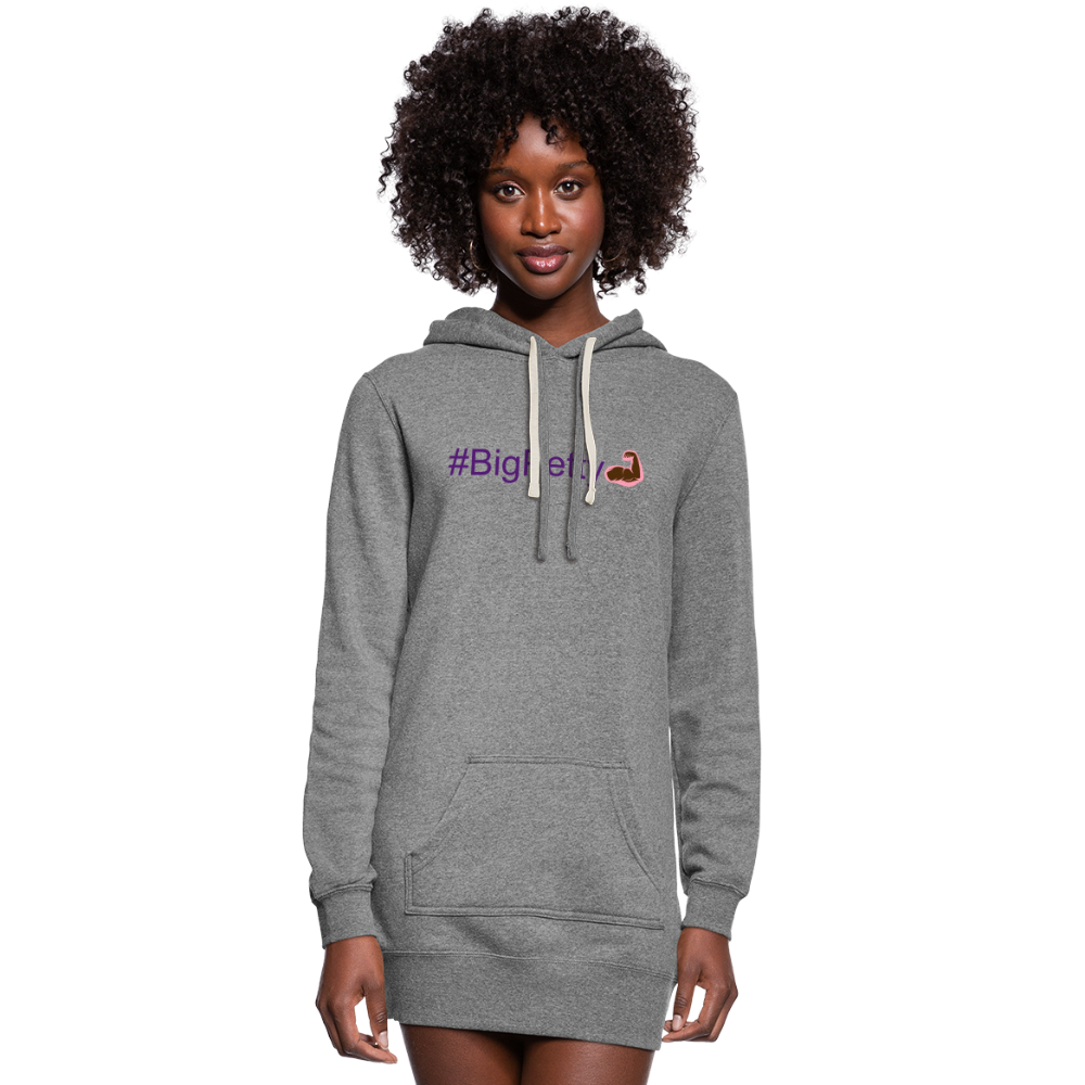 Women's Hoodie Dress - heather gray
