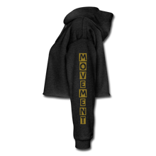 Load image into Gallery viewer, Cropped Hoodie - deep heather