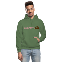 Load image into Gallery viewer, Big Petty Hoodie - military green