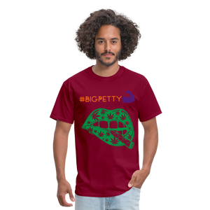 Big Petty T-Shirt - burgundy