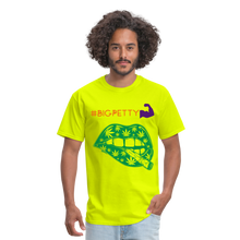 Load image into Gallery viewer, Big Petty T-Shirt - safety green