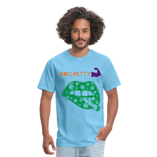Load image into Gallery viewer, Big Petty T-Shirt - aquatic blue
