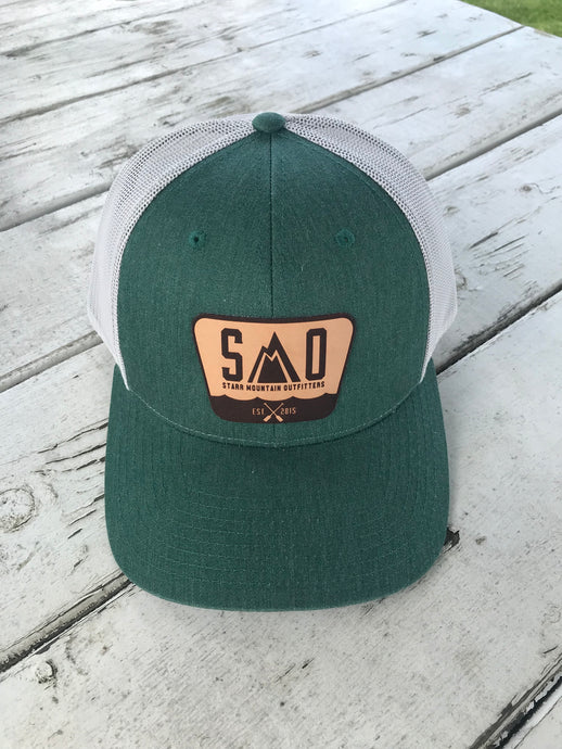 Leather Patch Caps