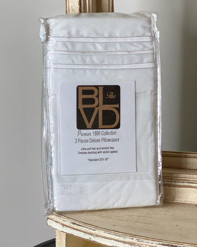 Set of 2 Standard Pillowcases