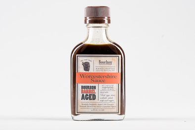 Apple Bourbon Barrel Aged Worcestershire sauce