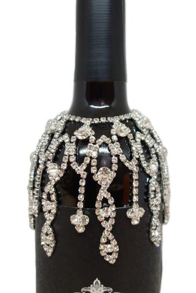 Large Crystal Wine Cover