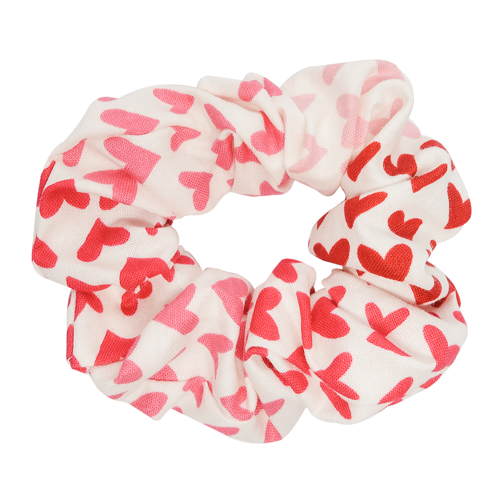 White Ombré Sweetheart Scrunchie - Bubbly Soaps