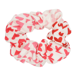 White Ombré Sweetheart Scrunchie