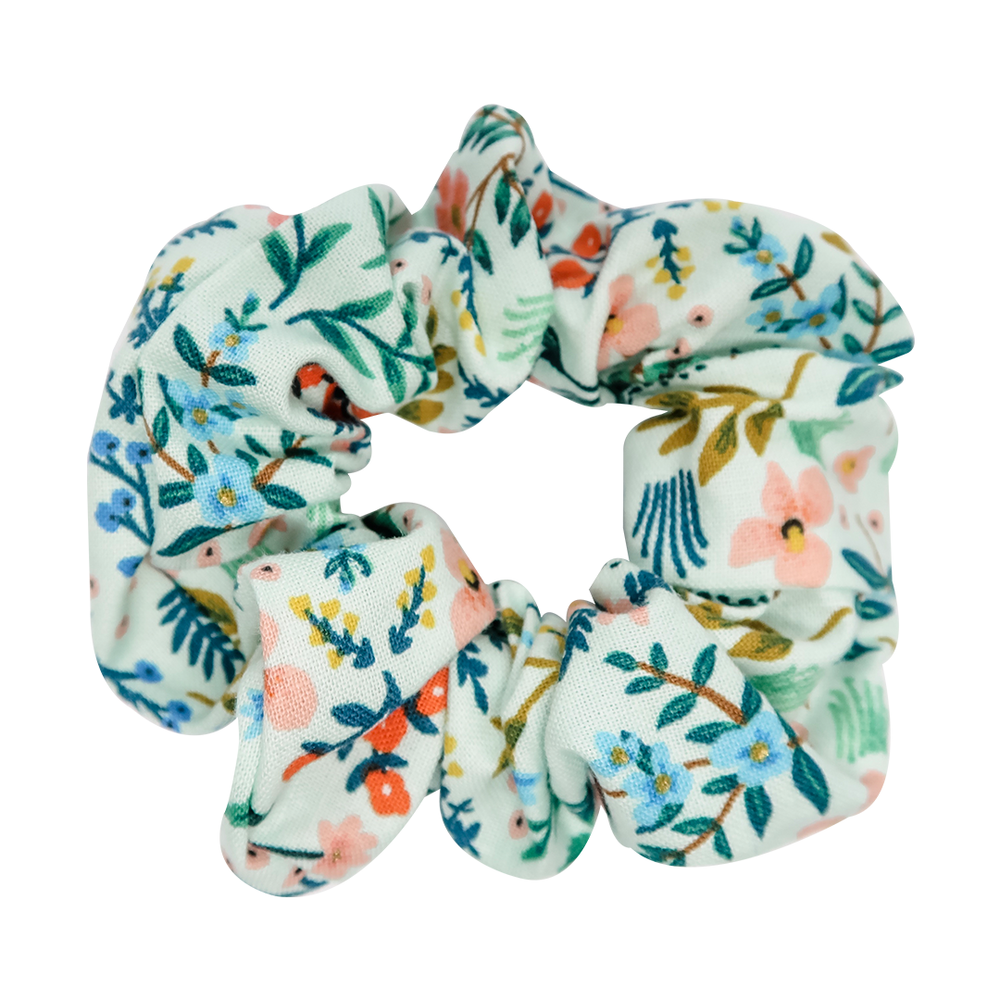 Wildwood Mint Scrunchie
