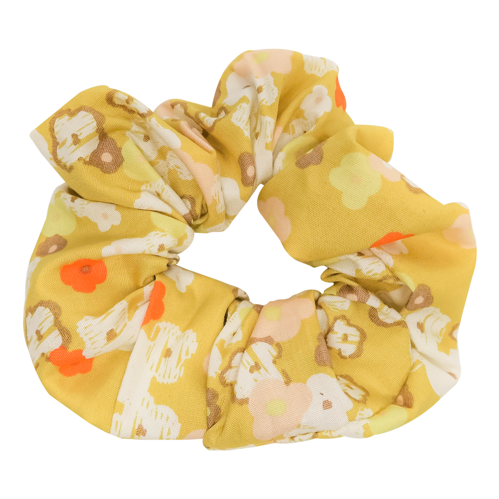 Sunshine Flower Scrunchie