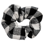 White Buffalo FLANNEL Scrunchie