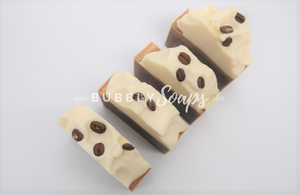 Coffee Artisan Soap - Bubbly Soaps Soaps