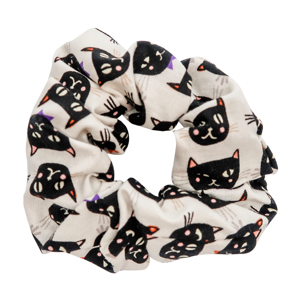 Black Cat Scrunchie