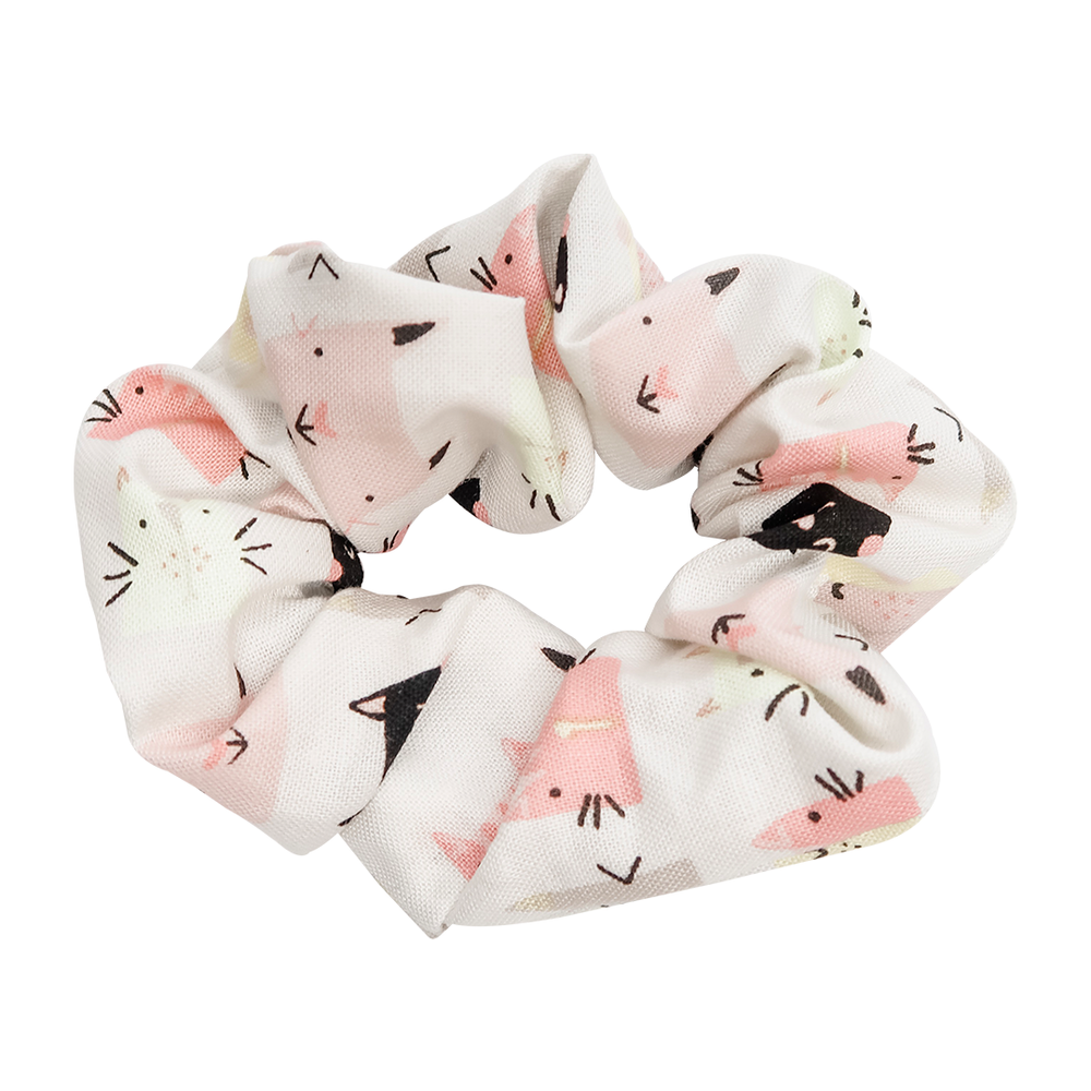 Cat Lover Scrunchie