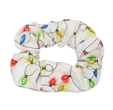 Christmas Lights Scrunchie - Bubbly Soaps