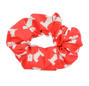 Christmas Dogs Scrunchie