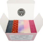 5-Pack of Handmade Soaps - Bubbly Soaps Soaps