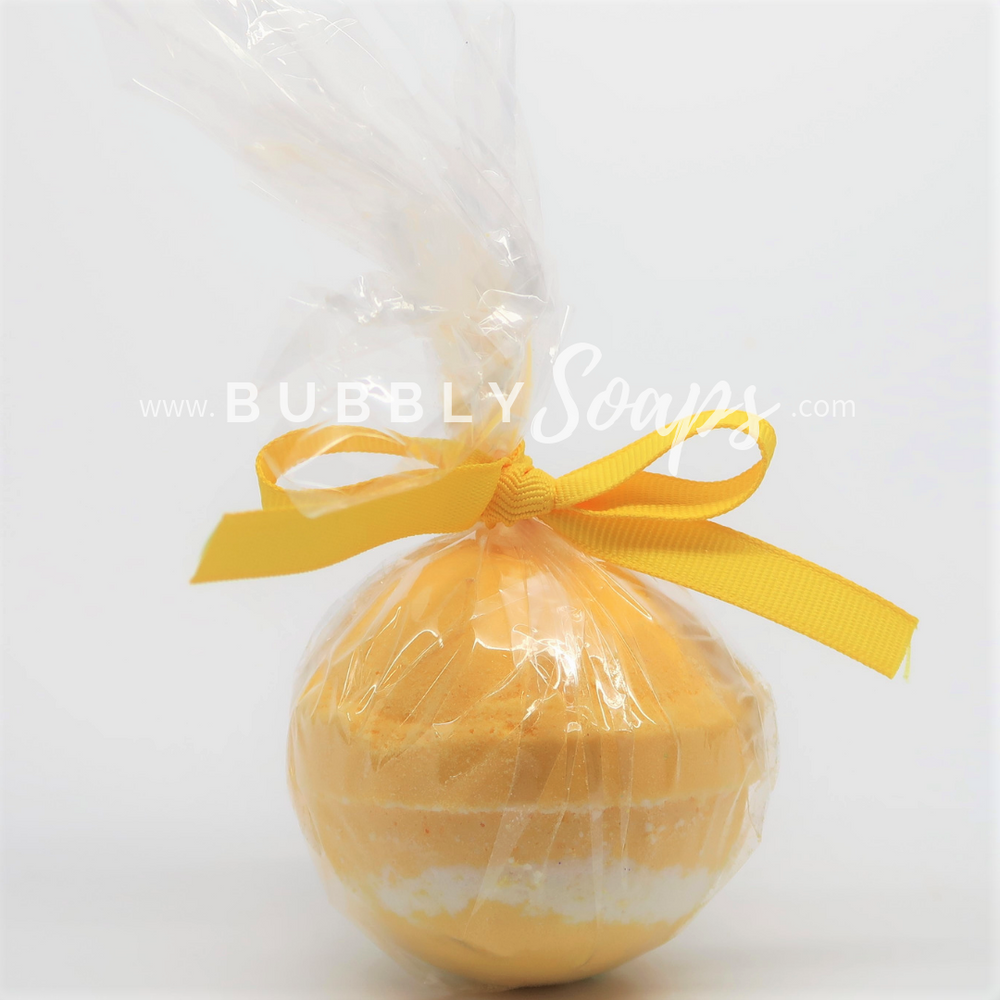 Lemongrass Artisan Bath Bomb - Bubbly Soaps Bath Bomb