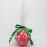 Merry Christmas Artisan Bath Bomb - Bubbly Soaps Bath Bomb