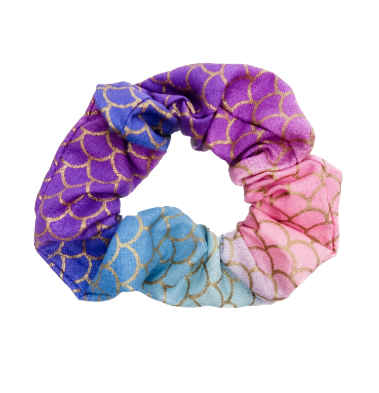 Mermaid Scales Scrunchie - Bubbly Soaps