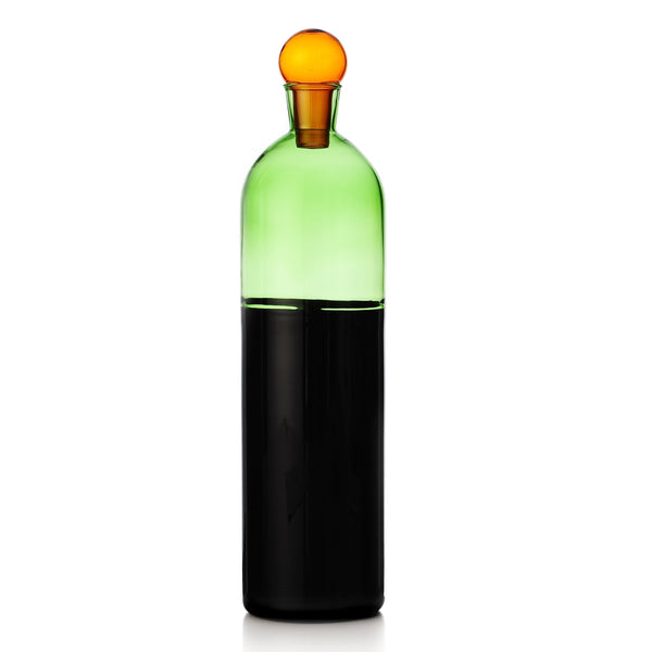 Green & Black Colore Bottle Jug