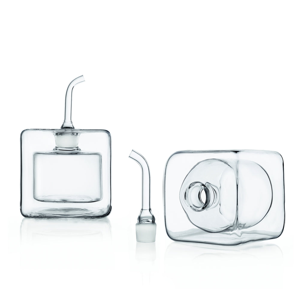 Cube Double Walled Oil Bottles (2pc/set)