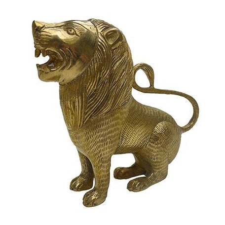 Beverley brass sitting lion | Doing Goods