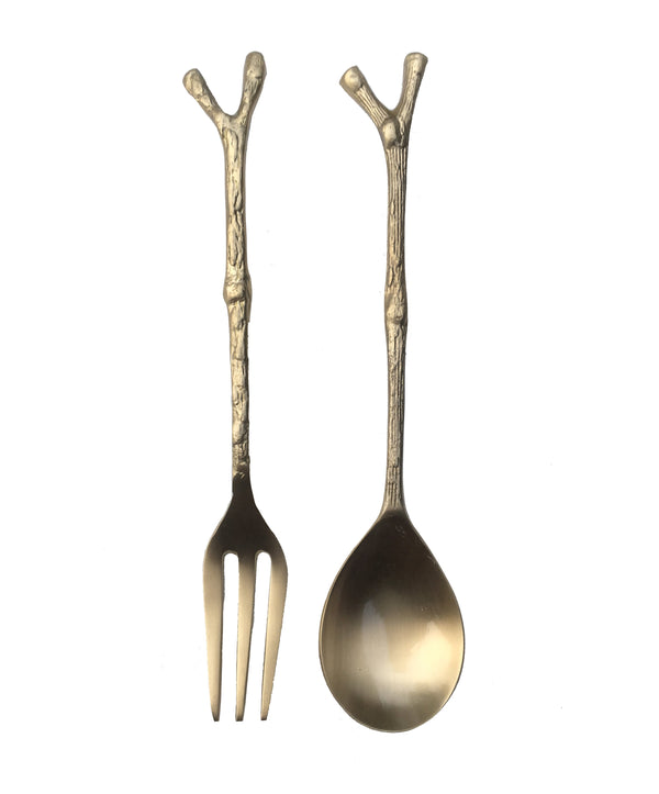 Twiggy Salad Servers | Doing Goods