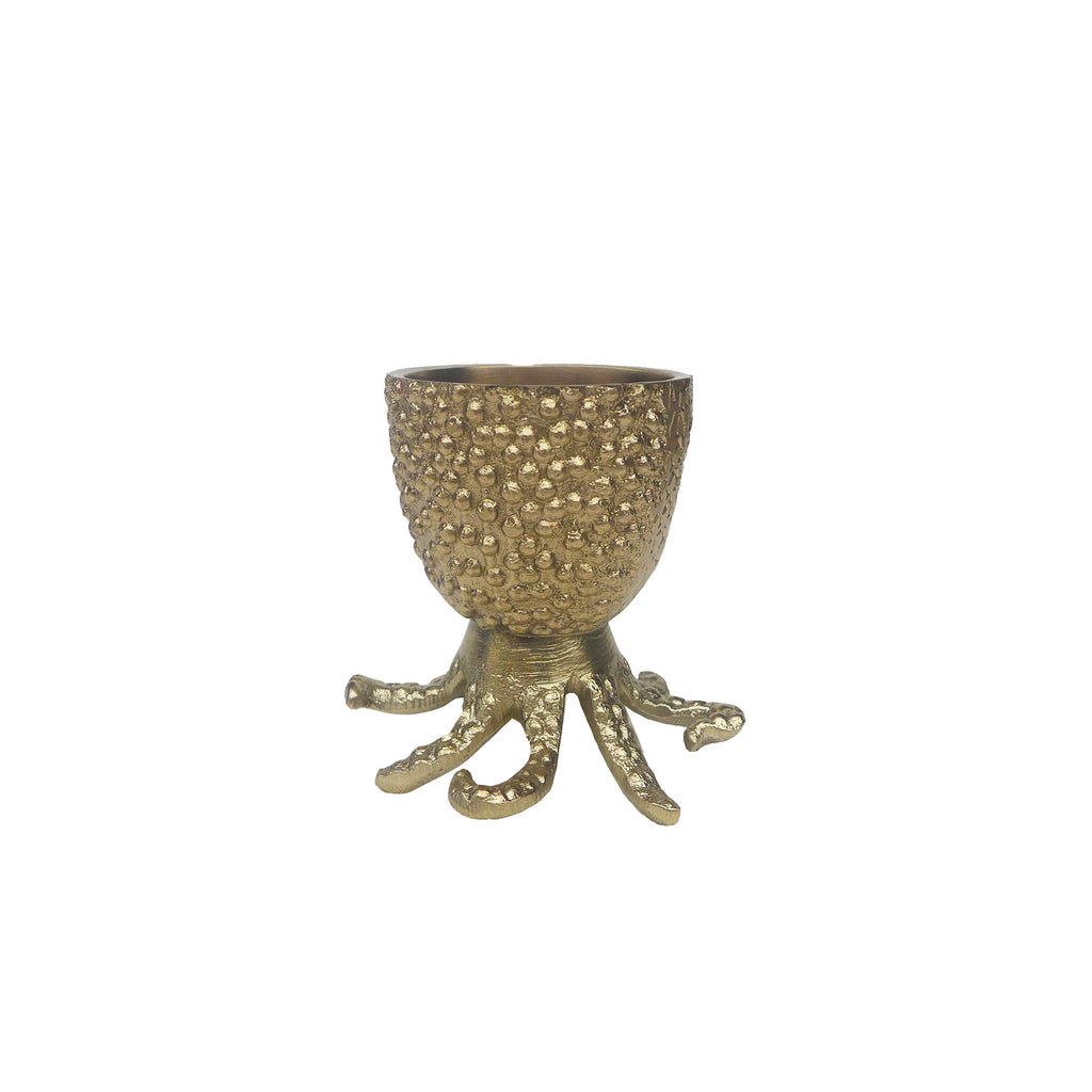 Octo Brass Egg Cup by Doing Goods