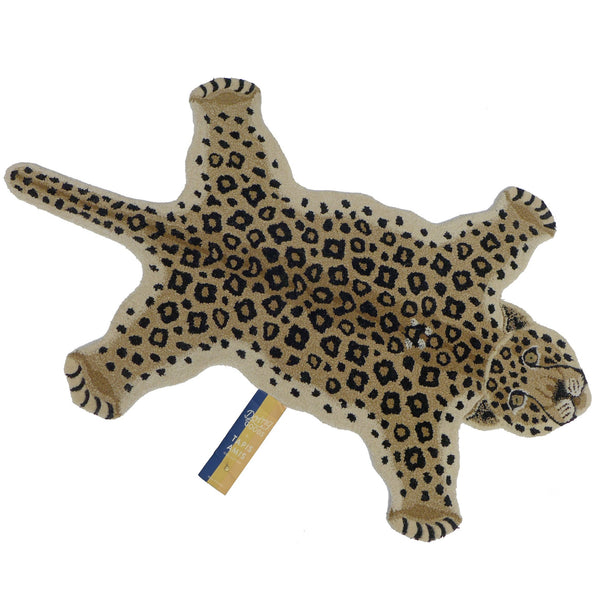 Loony Leopard Rug Large | Doing Goods