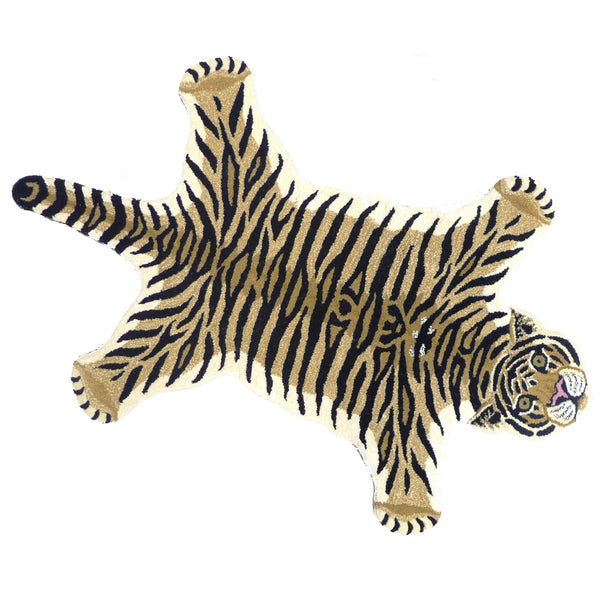 Drowsy tiger large rug | Tapis Amis | Doing Goods