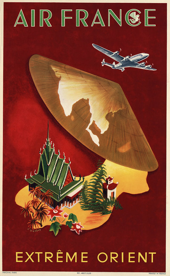 Poster - Air France Extreme Orient
