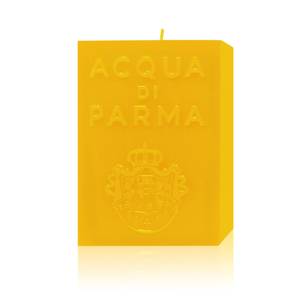 Yellow cube candle colonia | Acqua di Parma