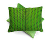 Almolonga Huipul Green Cushion | Tone Textiles