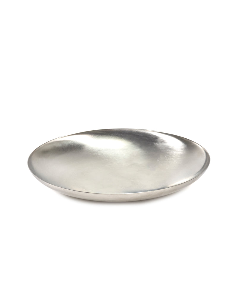 Brushed Steel Bowls by Bea Mombaers