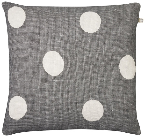 Chhatwal & Jonsson | Dots linen cushion grey