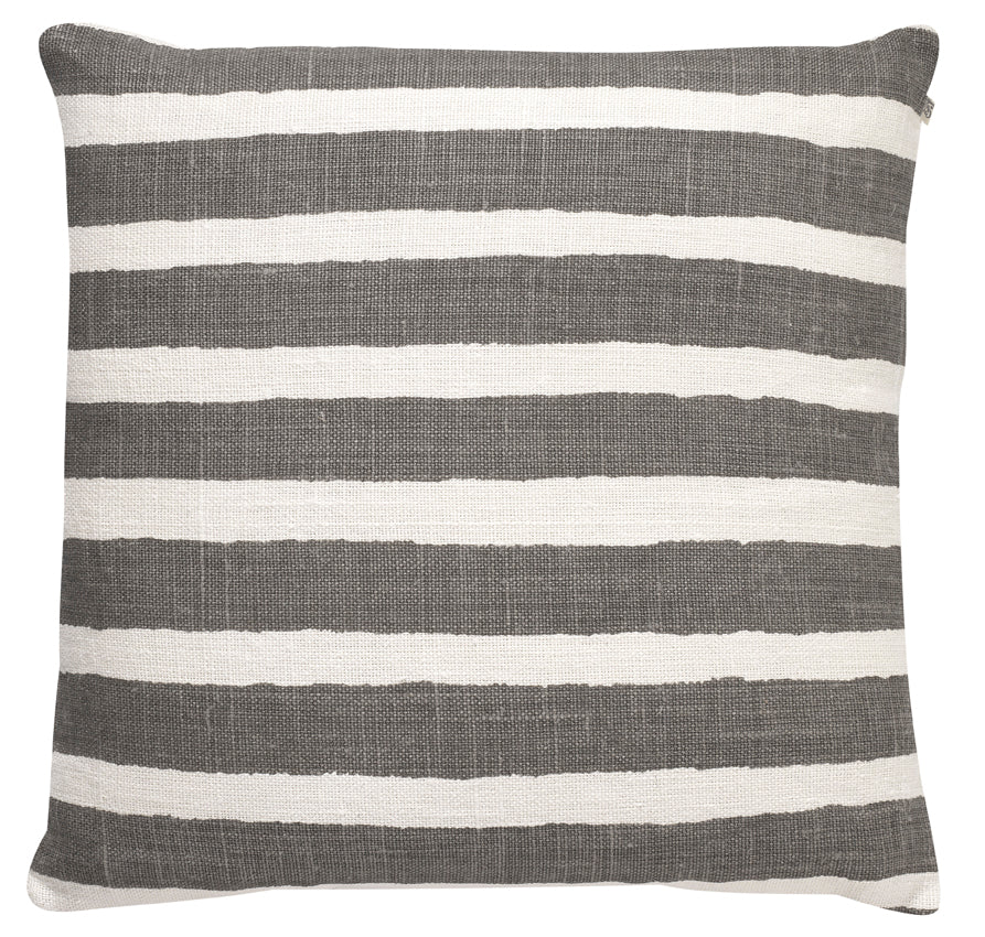 Chhatwal & Jonsson | Stripe Linen Cushion grey