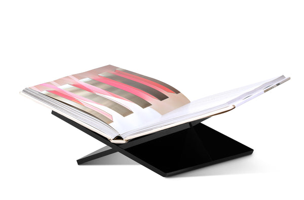 Black Acrylic Bookstand