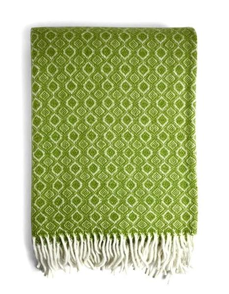 Havanna Throw Blanket in Green | Klippan