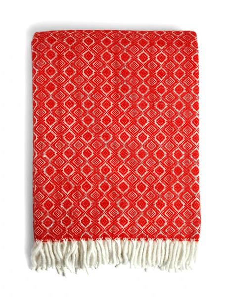 Havanna Throw Blanket in Chili | Klippan