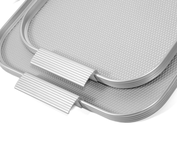 Ribbed Tray - Silver